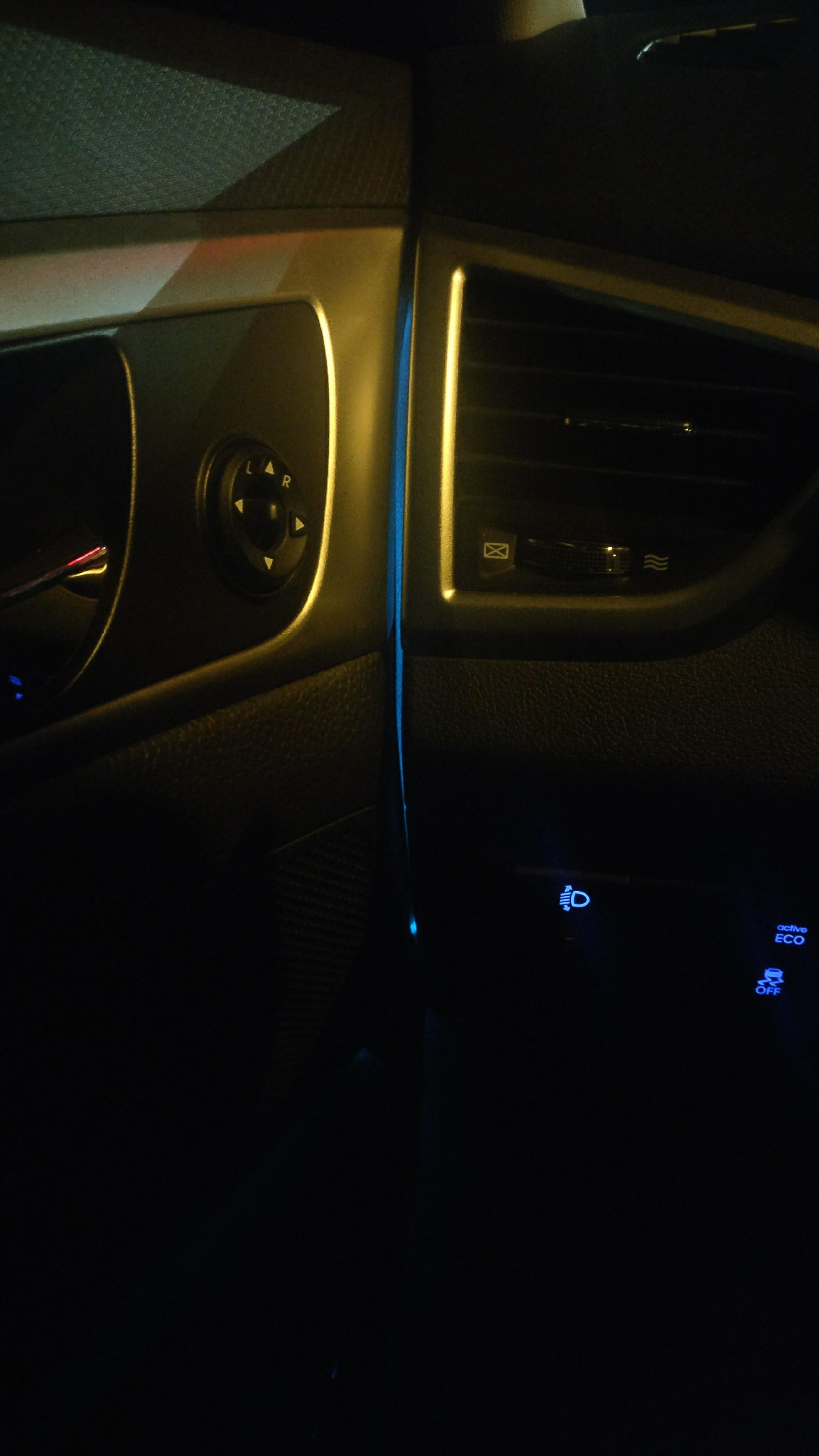 EL Wire Car doors installation | SharpEdge Blog