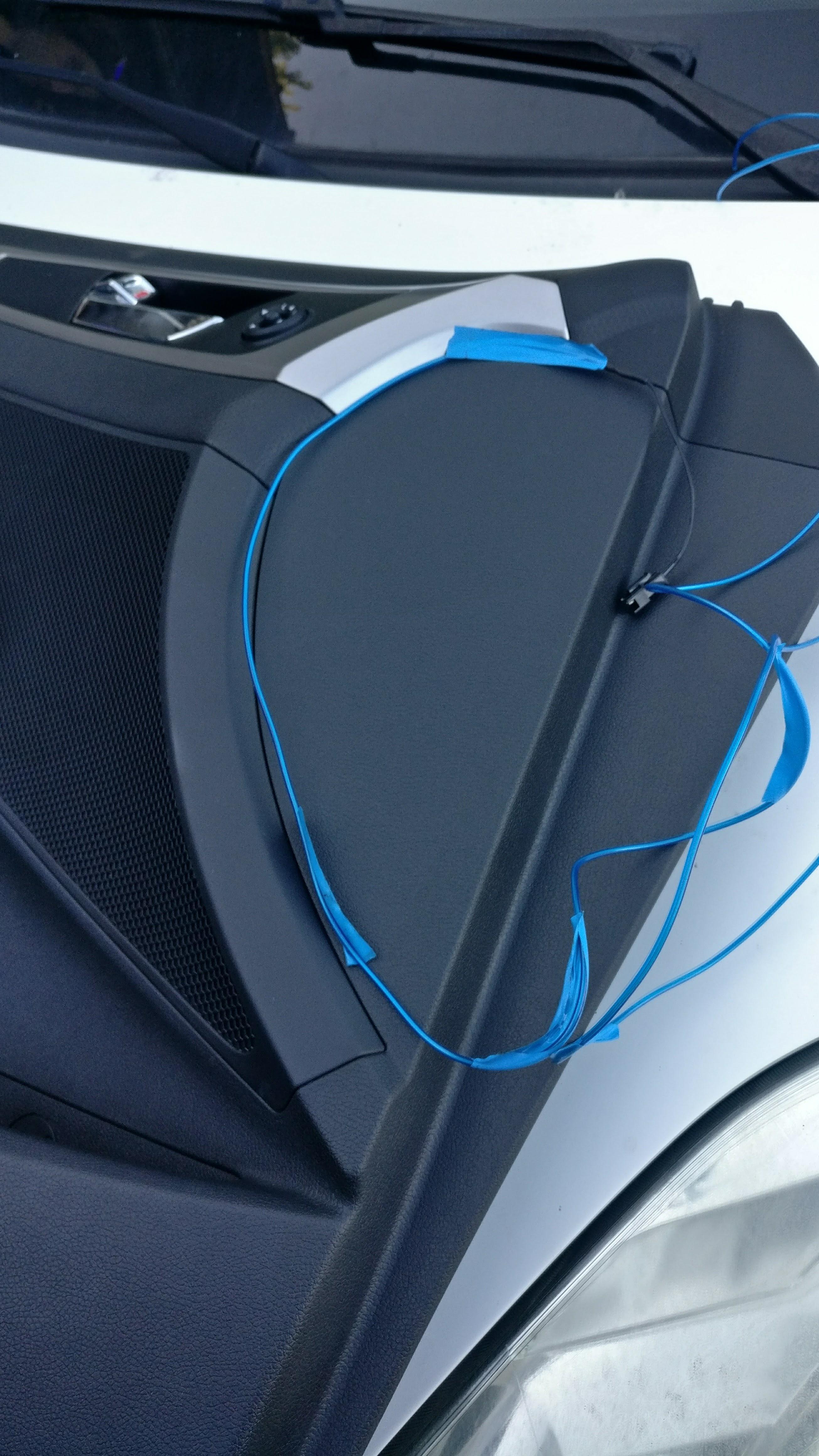 el wire car doors installation sharpedge blog. Black Bedroom Furniture Sets. Home Design Ideas